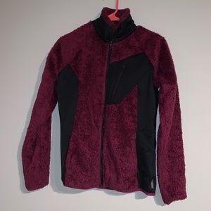 Columbia zip fleece jacket